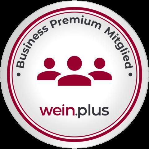 Wir sind wein.plus Business Premium-Mitglied